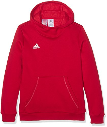 adidas Jungen Kapuzenpulli Core 15 Hoody Youth Kapuzenpullover, Power Red/White, 116