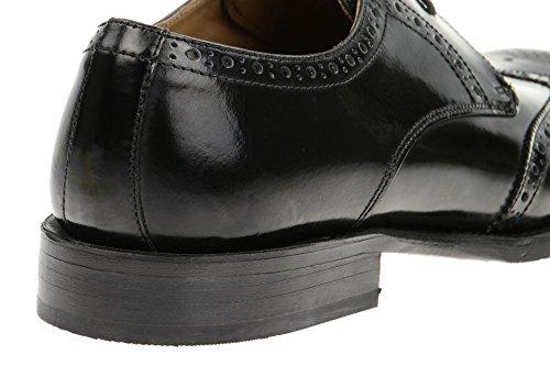 Gordon & Bros  Gordon & Bros Mirco Schuhe schwarz brush, Brogue homme Noir - Noir