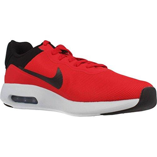 Nike 844874, Sneakers Basses Homme Rouge