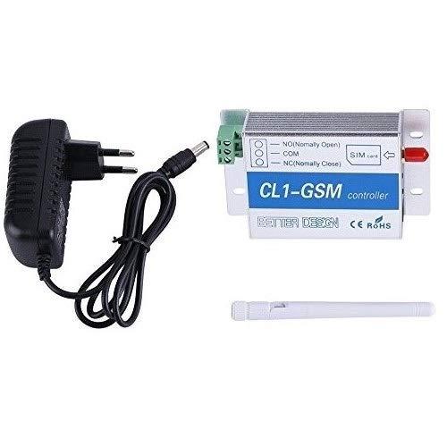 Fdit Drahtlose Fernbedienung GSM SMS Smart Home Security System Schalter Wireless Controller Toröffner für Home Security(EU)
