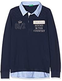 United Colours of Benetton Jungen Poloshirt L/S Polo Shirt,