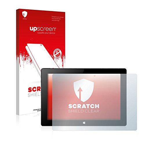 upscreen Scratch Shield Schutzfolie kompatibel mit Xoro PAD 10W4 - Kristallklar, Kratzschutz, Anti-Fingerprint