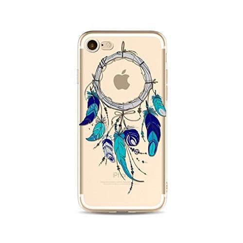 Coque iPhone 6 6s Housse étui-Case Transparent Liquid Crystal Capture de Rêve en TPU Silicone Clair,Protection Ultra Mince Premium,Coque Prime pour iPhone 6 6s-style 18 style 16