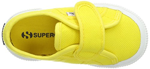 Superga 2750 Bvel, Sneakers Basses Mixte Enfant Jaune (sunflower)