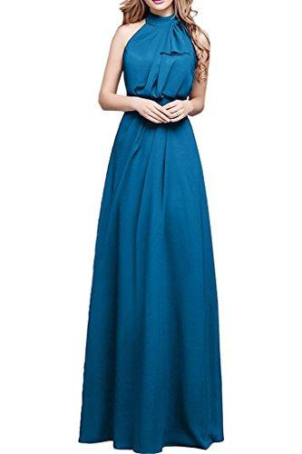Promgirl House - Robe - Trapèze - Femme Bleu - Bleu