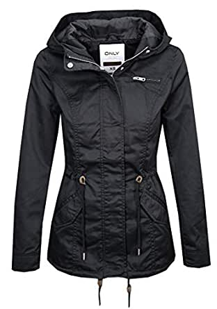 ONLY Women's Onlnew Lorca Spring Parka Jacket Cc OTW 1e4a3152bc5e