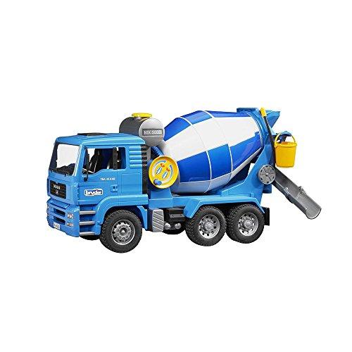 BRUDER - 02744 - Camion toupie béton MAN - Bleu