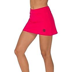 a40grados Sport & Style Fussion Falda, Mujer, Frambuesa, 40
