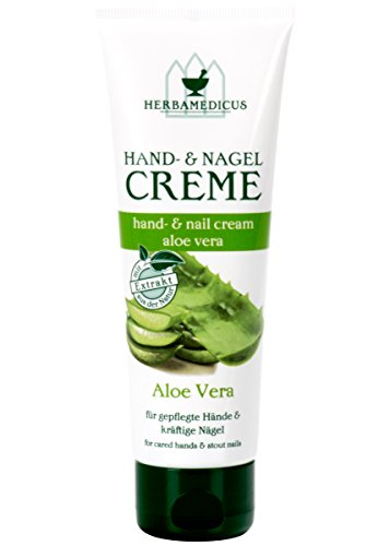 Herbamedicus Hand- & Nagelcreme Aloe Vera 125 ml