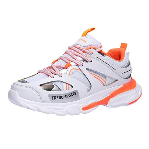 TWISFER Herren Mode Sneakers Sportschuhe Atmungsaktiv Turnschuhe Outdoor Fitnessschuhe Laufschuhe Gym für Walking Jogging Laufen