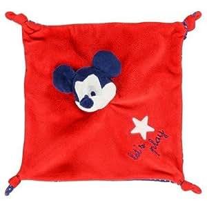 Orchestra Doudou Disney Orchestra souris Mickey plat rouge let's party etoile bleu