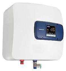 Havells Bello Digital 15-Litre 2000-Watt Storage Water Heater (White and Blue)