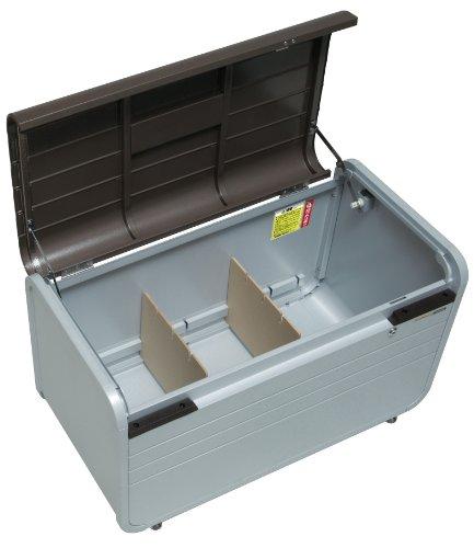 Wolff Finnhaus Vielzweckbox braun Metall-Gerätebox