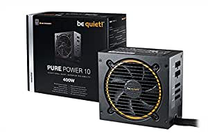 be quiet! Pure Power 10 400W CM 400W Black power supply unit - Power Supply Units (400 W, 100 - 240, 50 - 60, Active, 120 W, 384 W)