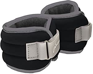 Pineapple Women's 2lb Comfort Weights Ankle/Wrist Weights - Black