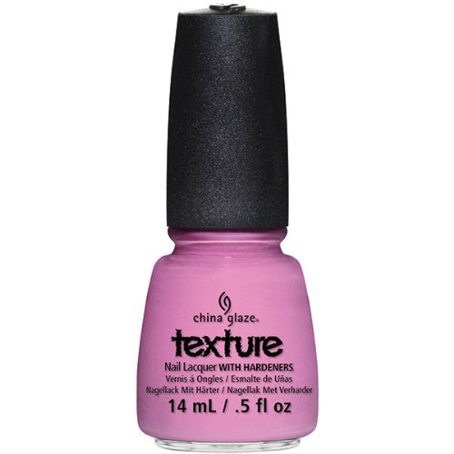 China Glaze Nail Lacquer with Hardner - Collection Texture - Unrefined, 1er Pack (1 x 14 ml) - China Farben