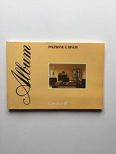 Catalogo Album Cassina Poltrone e divani 1988