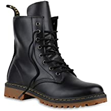 017c632d4ad7f3 Stiefelparadies Unisex Damen Herren Worker Boots Übergrößen Flandell