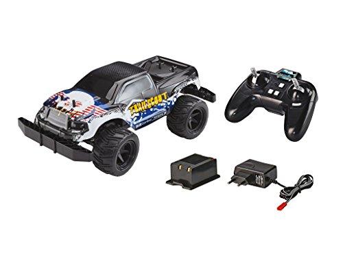 Revell Control X-treme 24814 - RC Car - schnelles, sehr robustes ferngesteuertes Auto als Offroader mit 2.4 GHz Fernsteuerung inklusiv Akku und Ladegerät - TRAIL SCOUT (Rc Car Speed Control)