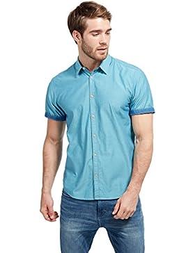 Tom Tailor für Männer Shirt / Blouse Casual Kurzarm-Hemd