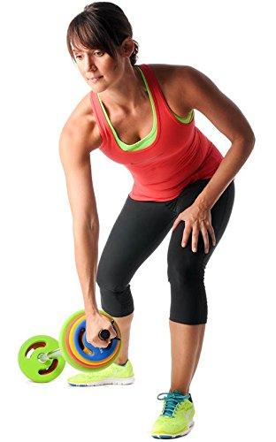 Oliver Prime Pump Langhantel Set 16 kg Hanteln Set Fitness Training Gewichte - 3