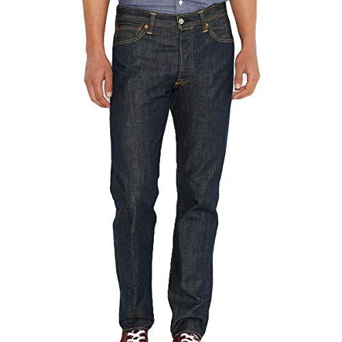 Levi's 501 Levis ORIGINAL FIT Jeans Herren Blau - DE 44 (US 34/34) - Straight Leg Jeans - Levis 501 Jeans Blau Jeans