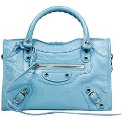 Balenciaga Luxury Fashion Mujer 300295DB5XN4860 Azul Claro Bolso De Mano   Otoño-Invierno 19