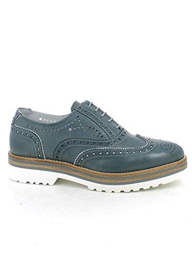 Nero Giardini - Zapatos de Cordones para Mujer Azul Turquesa Azul Size: 38 EU