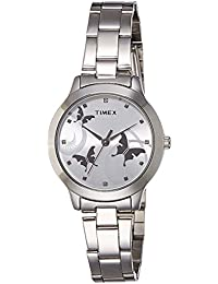 Timex Fashion Analog Silver Dial Women's Watch-TW000T606