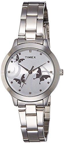 Timex Fashion Analog Silver Dial Women\'s Watch-TW000T606