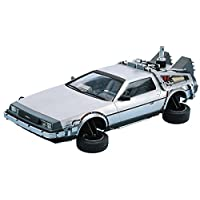 DeLorean DMC 12 Back to the Future 2 in 1:24 Model Kit Bausatz Aoshima 011867