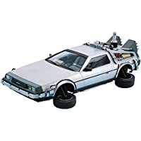 DeLorean DMC 12 Zurück in die Zukunft1+2+3 Set 1:24 Model Kit Bausatz Aoshima