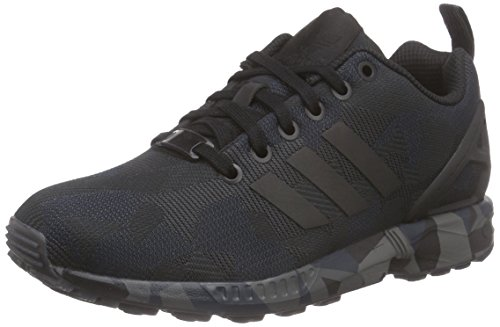 adidas Originals Herren ZX Flux Sneakers Schwarz (Core Black/Core Black/Carbon S14)