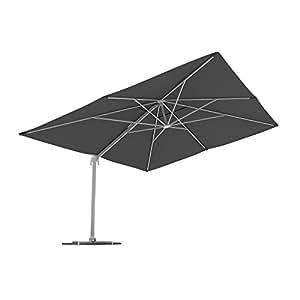 Paramondo parapenda parasol m t excentr parasol d port pour jardin 4x3m - Parasol excentre rectangulaire ...