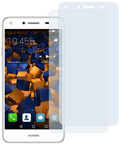 mumbi Schutzfolie kompatibel mit Huawei Y5 II Folie klar, Bildschirmschutzfolie (2X)