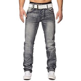 Herren Vintage Jeans Alkor ID1402 Regular Fit, Farben:Grau, Größe Jeans:W31