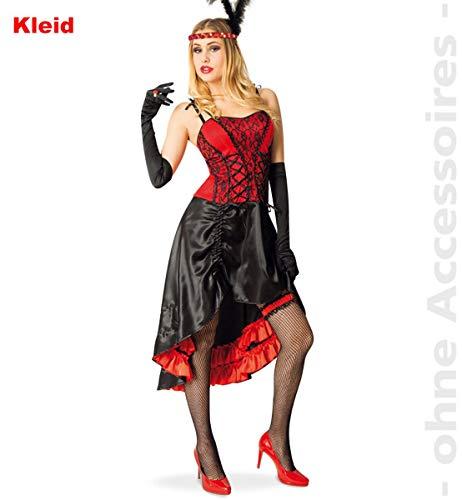 - Cancan Tanz Kostüm