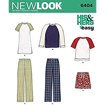 Butterick Schnittmuster 6297 Pyjama Oberteile, Shorts, Hose, Kleid ...