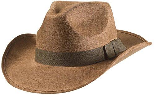 Widmann s.r.l. Abenteurer von Cowboy im Wilden Westen Hüte Mützen und Hut Kostüm ()