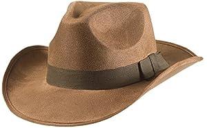 WIDMANN S.R.L. Aventurero de Vaquero del Oeste Salvajes Sombreros Gorras Y Sombreros para Disfraces Accesorios