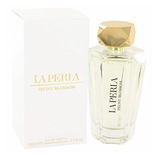La Perla Peony Blossom by La Perla Eau De Toilette Spray 3.3 oz for Women - 100% Authentic by La Perla