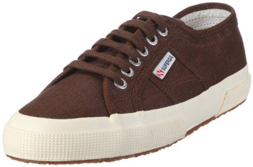 Superga 2750 LINU, Damen Sneaker Braun/966 Brown