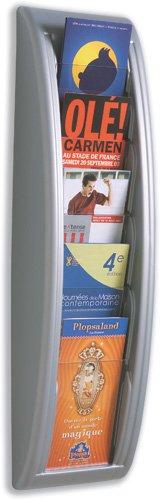 PAPERFLOW Wandhalter Quick Blick/4062-35 H65xB17,5xT9,5cm aluminium