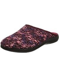 Loungeable Boutique - Zapatillas de estar por casa para mujer Negro gris 3caqjOC