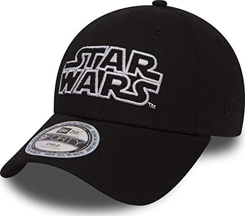 New Era Star Wars Glow In The Dark 9Forty Strapback Cap Black Toddler Kleinkind