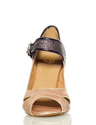 ShangYi Nicht Anpassbare - Stiletto - Beflockung - Salsa - Damen Gold