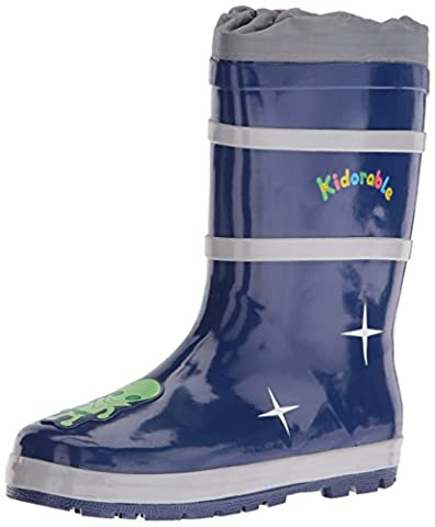 Kidorable Original Branded Space Wellington Boots For Kids, Boys and Girls (UK 12)