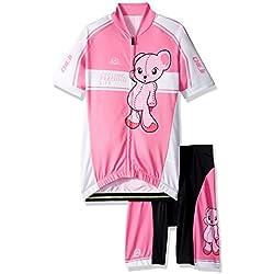 Ateid Maillot de Ciclismo y Pantalones Cortos para Niños, Osezno 6-7 AÑOS