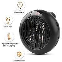 Ansunel Chauffage Céramique, 900W Réchauffeur Electrique pour La Maison Et Le Bureau