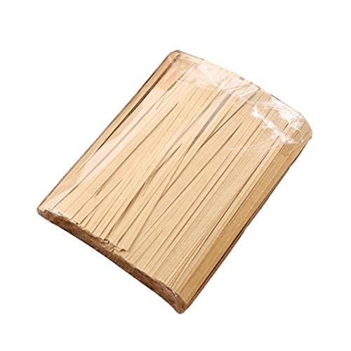 BESTONZON 1000 Stück Metalldraht Twist Krawatten Twistband Bindedraht Bindestreifen für Verpackung Beutel Dichtung Cellophanbeutel Backen 12 cm